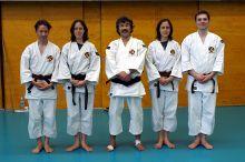 Gruppenbild mit Aosaka Sensei